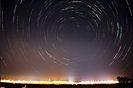 Sternenhimmel über dem Münchener Flughafen