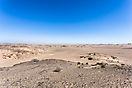 Blick Richtung Atlantik - Namibia