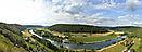 Blick von Schloss Eggersberg ins Altmühltal