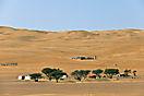 Beduinen-Dorf in Wahiba Sands