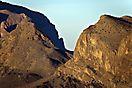 Jebel Shams bei Sonnenaufgang